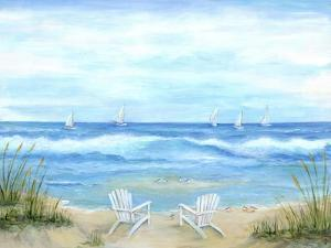 Peaceful Seascape by Marilyn Dunlap