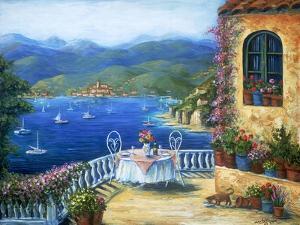 Pranzo Sul Terrazzo by Marilyn Dunlap