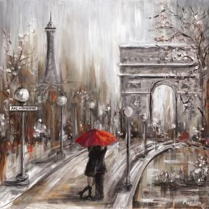 Rainy Embrace by the Arc by Marilyn Dunlap