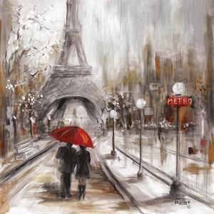 Rainy Paris by Marilyn Dunlap