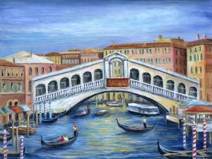 Rialto Bridge by Marilyn Dunlap