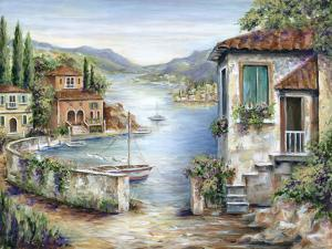 Tuscan Villas on the Lake by Marilyn Dunlap