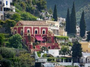 Villa in Positano by Marilyn Dunlap