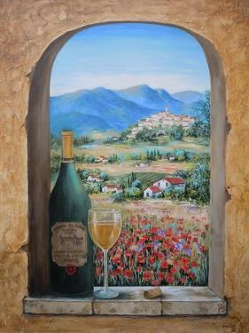 Wine and Poppies by Marilyn Dunlap
