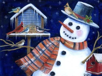 Winter Birds Delight by Marilyn Dunlap