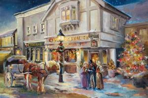 A Christmas Night Light by Marilyn Hageman