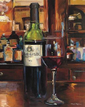 A Reflection of Wine III by Marilyn Hageman