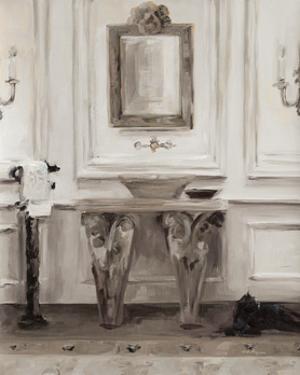 Classical Bath I Gray by Marilyn Hageman