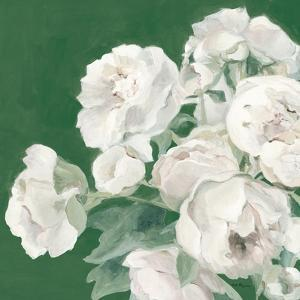 Emerald Peonies by Marilyn Hageman