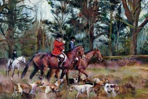 Foxhunt by Marilyn Hageman