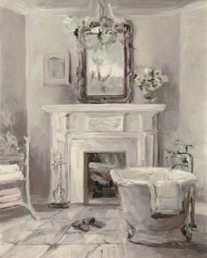 French Bath IV Gray by Marilyn Hageman