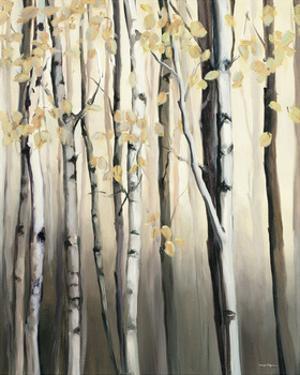 Golden Birch II by Marilyn Hageman