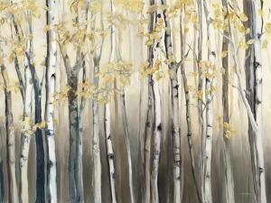 Golden Birch III by Marilyn Hageman