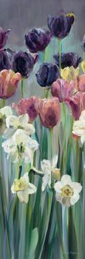 Grape Tulips Panel II by Marilyn Hageman