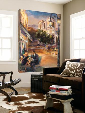 Twilight time in Paris by Marilyn Hageman