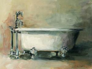 Vintage Tub II Dark by Marilyn Hageman