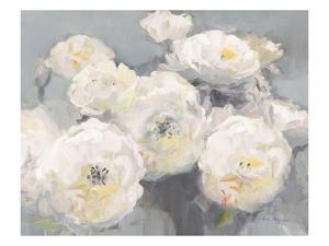 Wild Roses Gray Crop by Marilyn Hageman