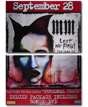 Marilyn Manson - The Best of (Set of 2)