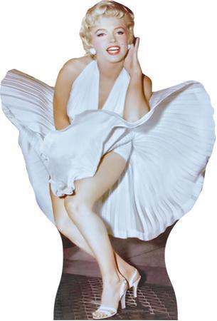 Marilyn Monroe 7 year Itch Lifesize Standup