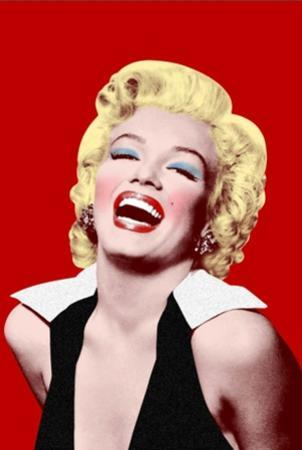 Marilyn Monroe- Big Smile In Red
