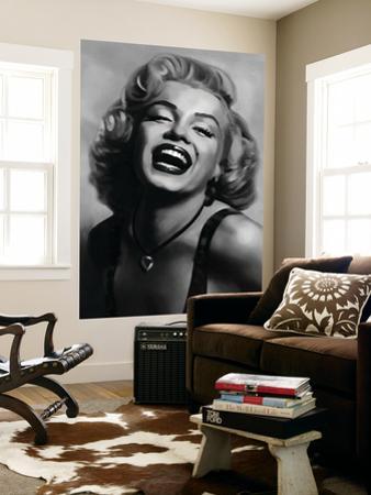 Marilyn Monroe by Tom Croft Movie Mural