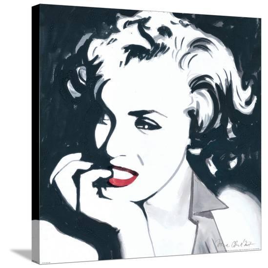Marilyn Monroe III-Irene Celic-Stretched Canvas