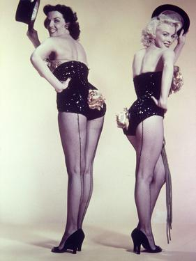 "Marilyn Monroe, Jane Russell ""Gentlemen Prefer Blondes"" 1953, Directed by Howard Hawks"
