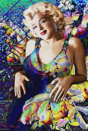 Marilyn Monroe- Neon Flowers