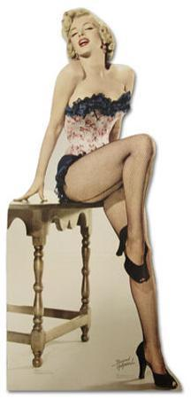 Marilyn Monroe - Net Stockings Lifesize Standup