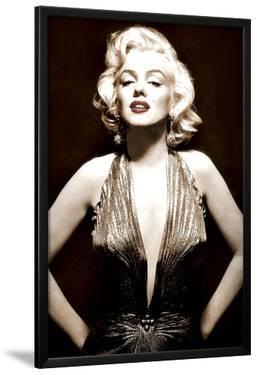 Marilyn Monroe- Poised in Sepia