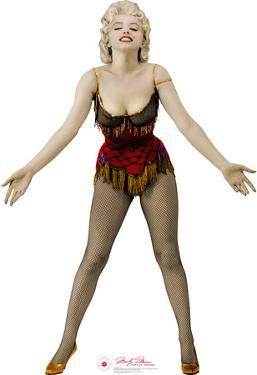 Marilyn Monroe - Saloon Singer Lifesize Cardboard Cutout
