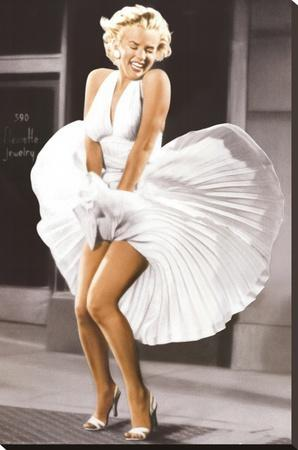 Marilyn Monroe Seven Year Itch White Dress Color