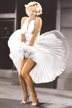 Marilyn Monroe - Seven Year Itch, White Dress, Color