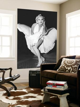 Marilyn Monroe The Legend by Sam Shaw Movie Mural