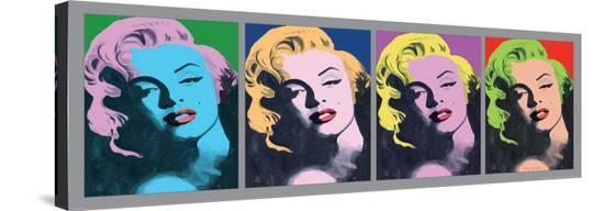 Marilyn Monroe VI-Irene Celic-Stretched Canvas Print
