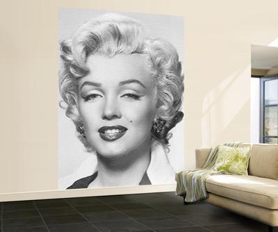 Marilyn Monroe Wall Mural Movie