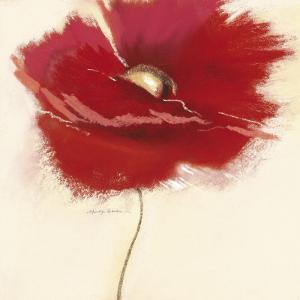 Red Poppy Power III by Marilyn Robertson