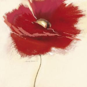 Red Poppy Power III by Marilyn Robertson