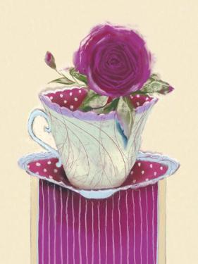 Tea Rose by Marilyn Robertson