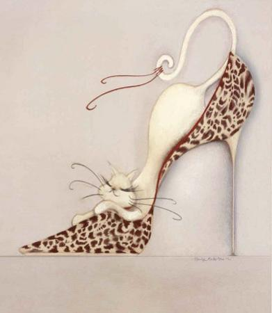 The Purrrfect Fit II by Marilyn Robertson