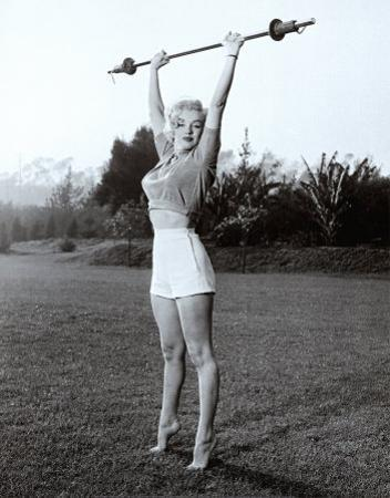 Marilyn Workin' It