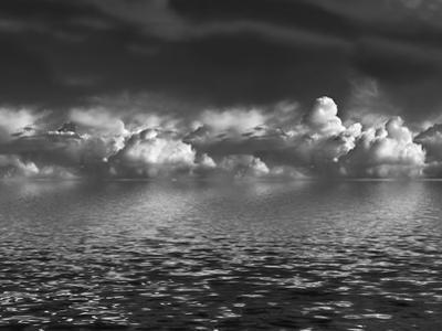 Cumulus Clouds over Water by marilyna