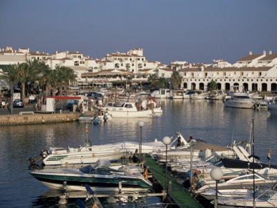 Marina, Cala En'Bosch, Menorca, Balearic Islands, Spain, Mediterranean