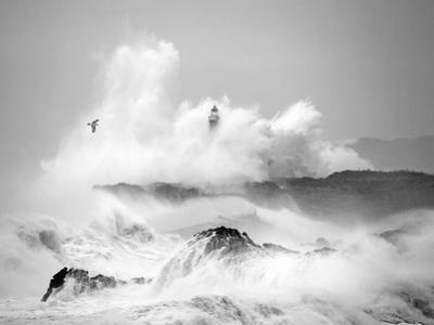 Storm in Cantabria by Marina Cano
