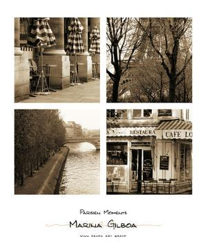 Parisien Moments by Marina Drasnin Gilboa