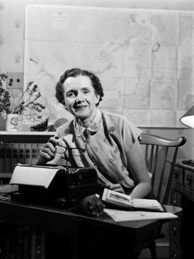 Marine Biologist and Author Rachel Carson