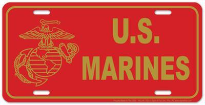 Marine Red Plate
