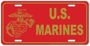 Marine Red Plate
