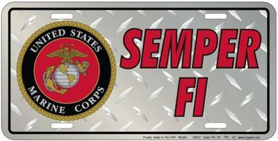 Marines - Diamond Plate