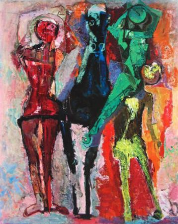 Horse and Jugglers by Marino Marini